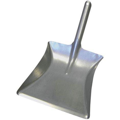 MASTA Kehrrichtschaufel aus verzinktem Stahlblech Breite 215 mm
