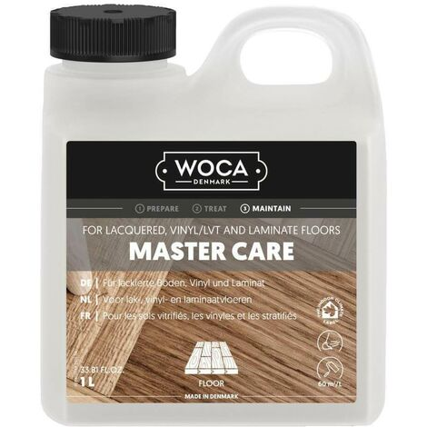 Master Care - Polish pour les sols vitrifiés, les vinyles et les stratifiés