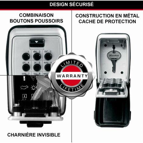 """main image of """"MASTER LOCK Cassaforte per chiavi - Medium - Montaggio a parete - Pulsante - 5423EURD - Casseta di Sicurezza per Chiavi"""""""