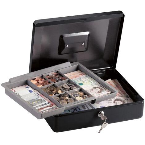 Master Lock CB-12ML Medium Cash Box with Tray