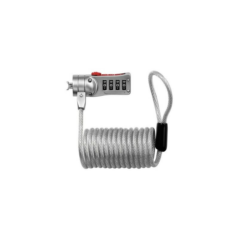 Image of 2120E Combi Computer Cable Lock 1.8m x 5mm - Master Lock