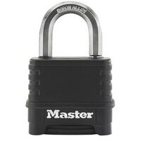 Master Lock M178 Excell 4 Digit Black Combination 50mm Padlock