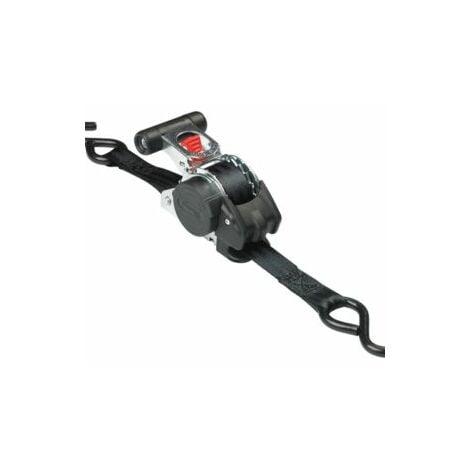 Retractable Ratchet Straps >> Master Lock Retractable Ratchet Tie Down S Hook 3m 2 Piece