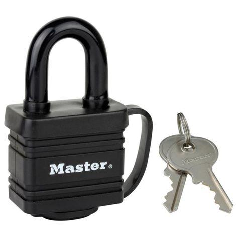 Master Lock Vorhängeschloss mit Stiftzuhaltung Stahl 40 mm 7804EURD