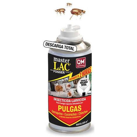 MASTERLAC FOGGER, insecticida nebulizador contra Garrapatas, Chinches y Pulgas e insectos voladores 150ml