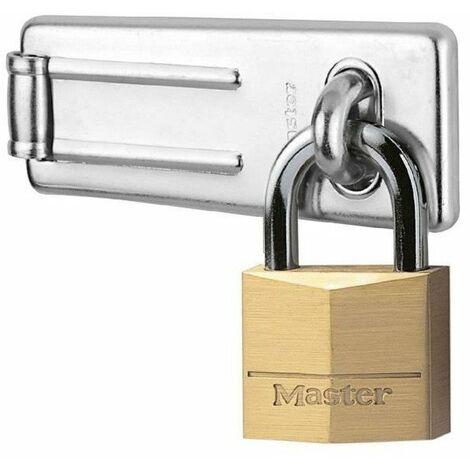 MASTERLOCK Pack moraillon + cadenas
