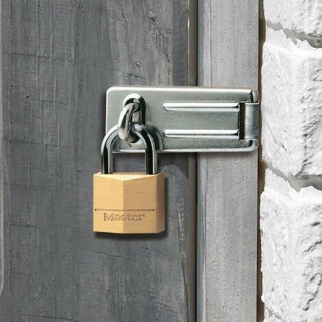 MASTERLOCK Pack moraillon + cadenas Master Lock