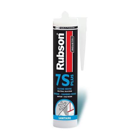 Mastic 7S+ RUBSON - 310 ml - translucide - 850683
