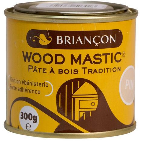 Mastic à bois BRIANCON pâte à bois tradition - Blanc - WMB300