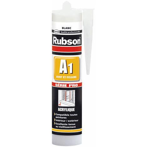 Mastic A1 acrylique SNJF joint et fissure Rubson - plusieurs modèles disponibles