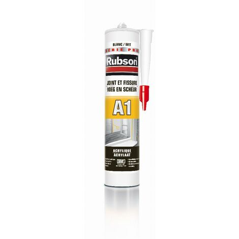 """main image of """"Mastic A1 joint et fissures façades RUBSON - 300 ml - blanc - 969103"""""""