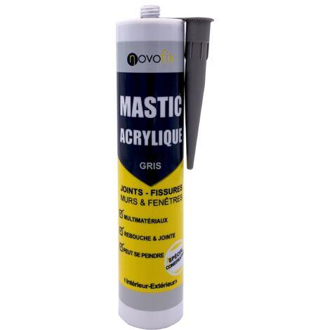 Mastic acrylique Murs et Fenêtres Novofix 280ml
