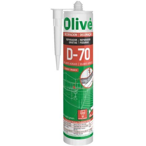 Mastic acrylique Olive 300 Ml Gris D-70 Gris