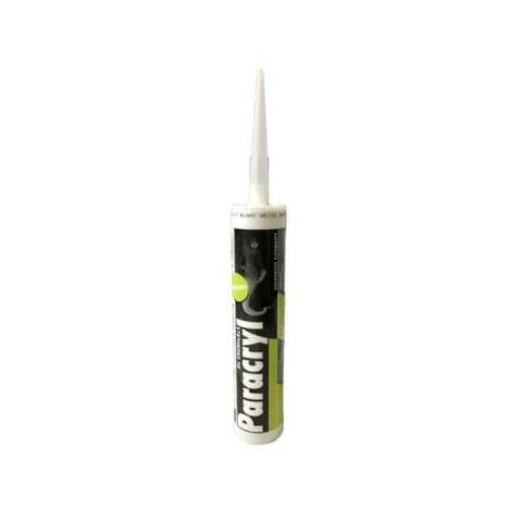 Mastic acrylique Paracryl DL CHEMICALS - blanc 310ml x5