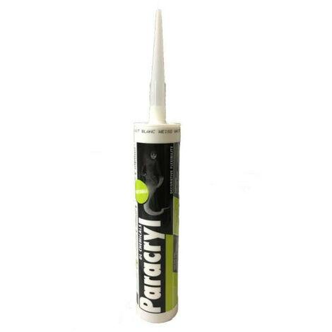 Mastic acrylique Paracryl DL CHEMICALS - Cartouche de 310 ml - Blanc - 30002000