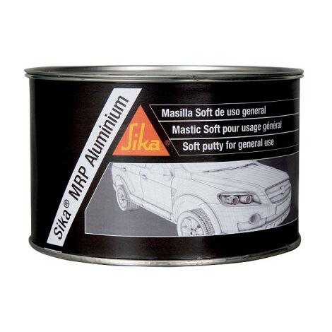 Mastic aluminium fin pour réparation de carrosserie - SIKA MRP Aluminium - Gris - 2,5kg - Gris