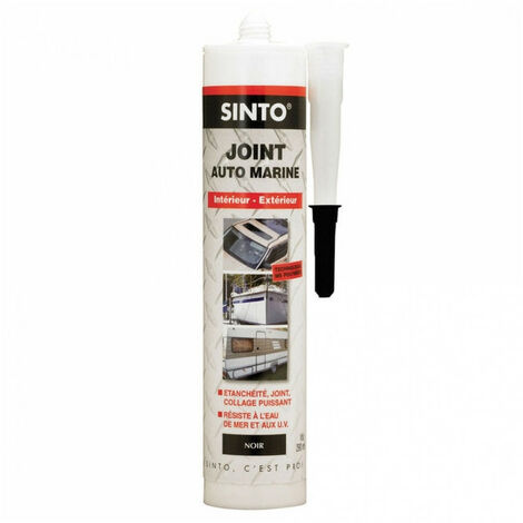 Mastic Auto Marine (différents coloris) Sinto - plusieurs modèles disponibles