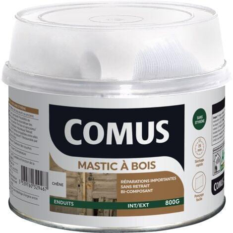 MASTIC BOIS (B+D) CHENE 800 GR - COMUS - chêne