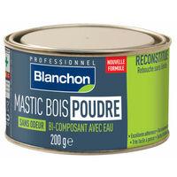 Mastic Bois Poudre Blanc 200 G