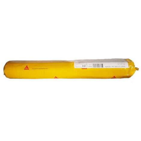 Mastic classé feu pour joints de dilatation et de calfeutrement - SIKA Sikasil 670 Fire - Gris - 600ml