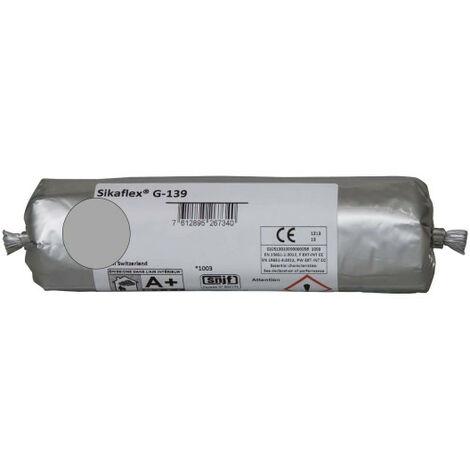 Mastic-colle à prise rapide SIKA Sikaflex G 139 - Gris béton - 400ml - Gris