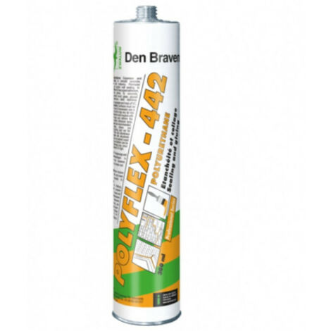 Mastic colle polyuréthane 300ml Polyflex 442 DEN BRAVEN - plusieurs modèles disponibles