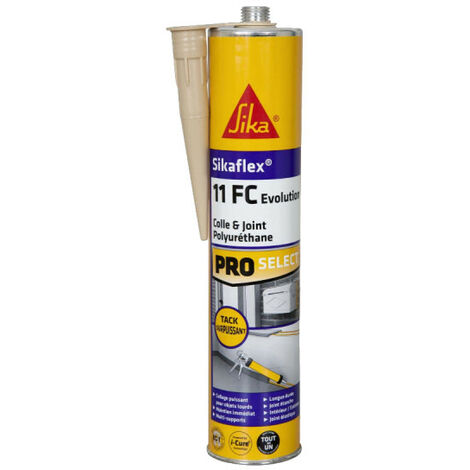 Mastic colle SIKA Sikaflex 11 FC+ Evolution - Beige - 300ml