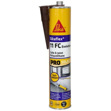 Mastic colle SIKA Sikaflex 11 FC+ Evolution - Marron - 300ml