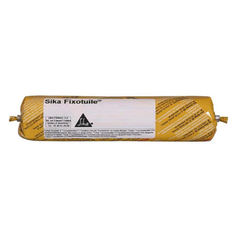 Mastic-colle souple SIKA Sika Fixotuile - Terre cuite - Recharge 400ml