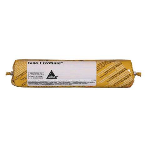 Mastic-colle souple SIKA Sika Fixotuile - Terre cuite - Recharge 400ml - Terre cuite