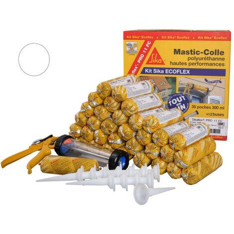 """main image of """"Mastic-colle tout-en-un à prise rapide SIKA Kit Sika Ecoflex"""""""
