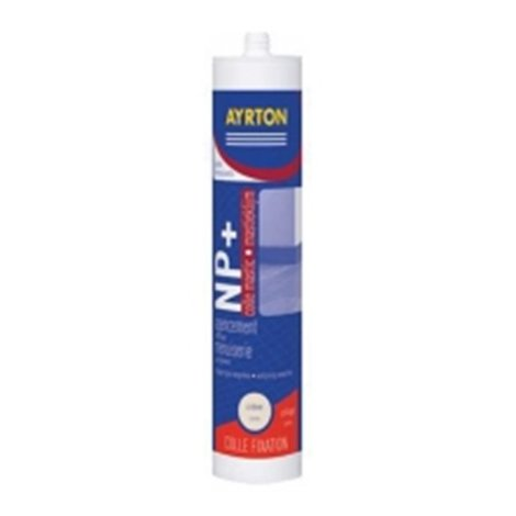 Mastic - Colle Universelle NP+ - Blanc 300 ml