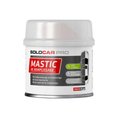 Mastic de remplissage Solocar Pro avec durcisseur 250g