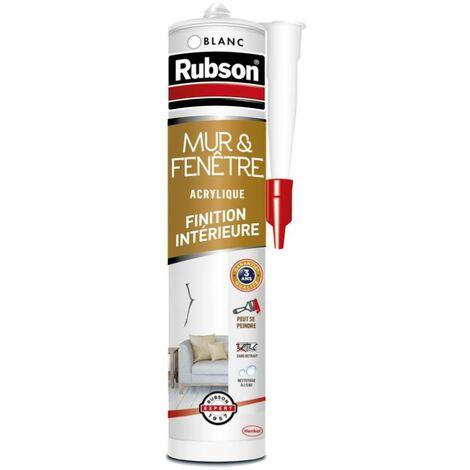 Mastic d'étanchéité mur intérieur RUBSON Finition 280 ml blanc