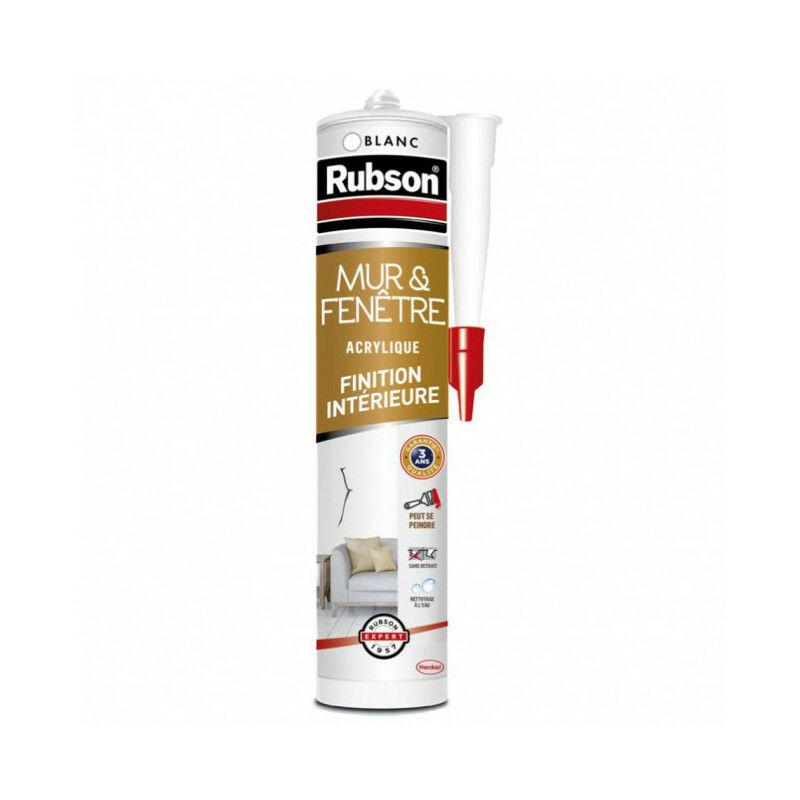 Mastic mur intérieur 280ml blanc - Rubson