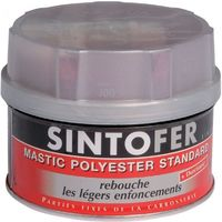 Mastic + durcisseur Répar' Métal standard - Pot de 330 ou 970g - SintoFer - plusieurs modèles disponibles