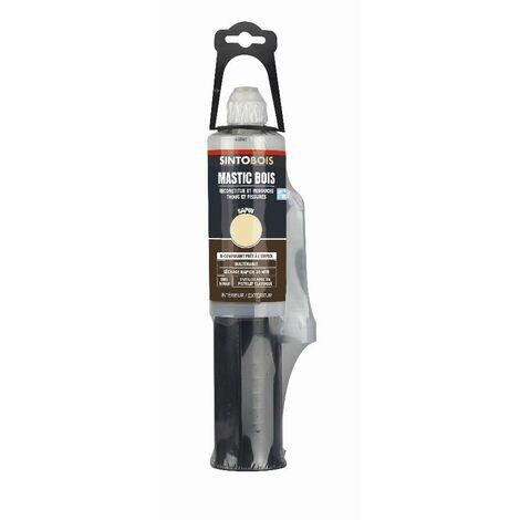 Mastic + durcisseur Répare Bois - Cartouche de 150ml - Sintobois - plusieurs modèles disponibles