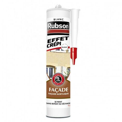 Mastic 'effet crépi' Façade (différents coloris) Rubson - plusieurs modèles disponibles