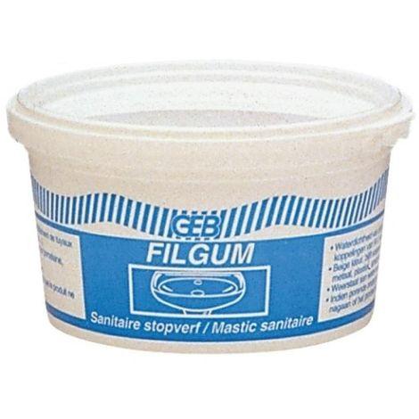 Mastic étanchéité sanitaire FILGUM - Boite 500g
