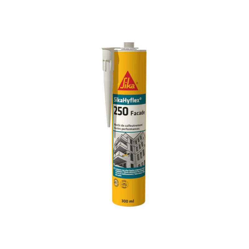 Mastic haute performance Hyflex 250 Façade - Blanc - 300ml - Blanc - Sika