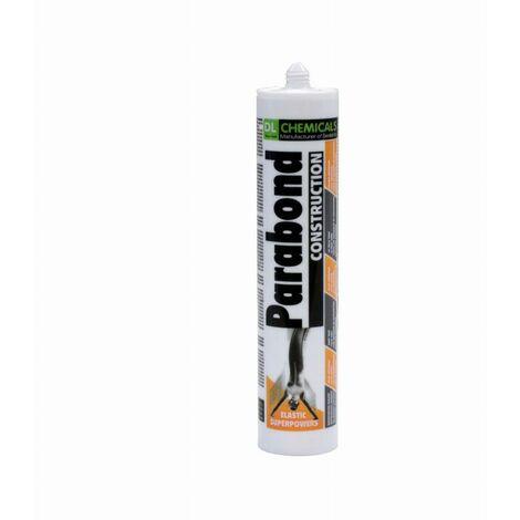 Mastic hybride Parabond construction SNJF DL CHEMICALS - Cartouche de 290 ml - Gris béton - 40008N303463