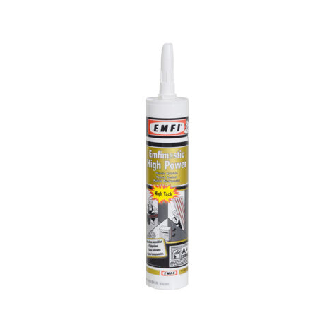 Mastic Hybride Polymere HIGH POWER Cartouche de 290ML Blanc - 75035BE003