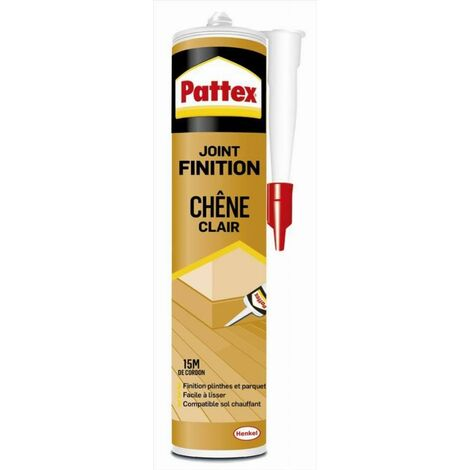 Mastic joint finition chêne clair PATTEX - cartouche 300 ml - 2703575