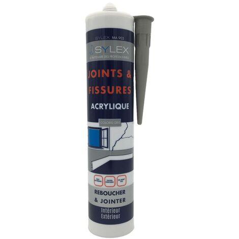Mastic Joints et Fissures spécial peinture 280ml Sylex DECO MP 201   Couleur: Blanc