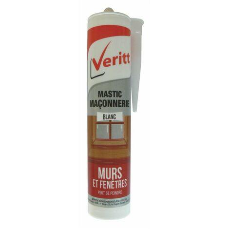 Mastic Maconnerie Acryl Blanc 280ml - VERITT