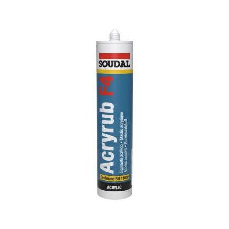 Mastic maçonnerie acrylique C151-6 blanc - 300ml