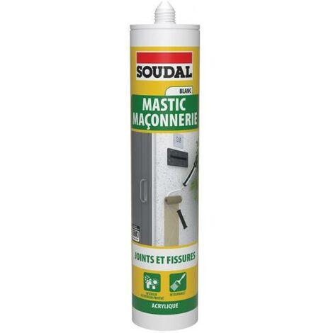 Mastic Maçonnerie Acrylique SNJF blanc - Soudal