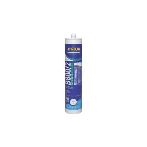 Mastic menuiserie silicone B 800 marron - 300ml