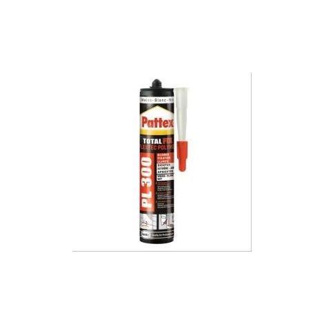 Mastic MS polymère tous matériaux Pattex PL300 - 12 cartouches de 392g