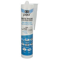 Mastic piscine POOL qualité professionnelle TRANSPARENT 290 ml